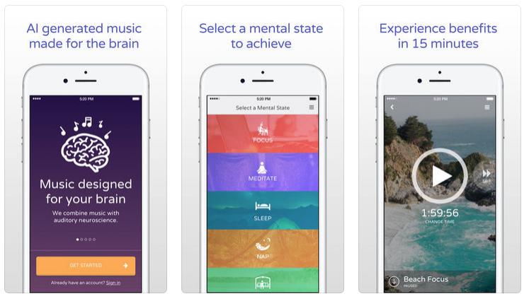 brain fm best productivity apps