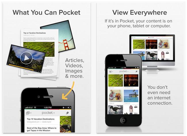 pocket best productivity apps